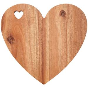 Heart Shaped Chopping Board - White Edge