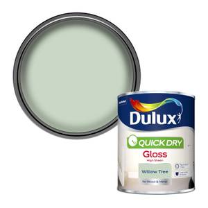 Dulux Quick Dry Gloss Paint - Willow Tree - 750ml