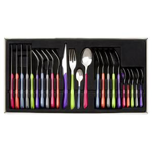 Zuma Cutlery Set - Multi-coloured - 24 Pieces
