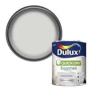 Dulux Quick Dry Eggshell Paint - Polished Pebble - 750ml