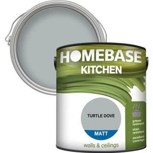 Homebase Kitchen Matt Paint - Turtle Dove 2.5L