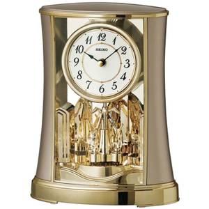 Seiko Rotating Pendulum Clock - Gold