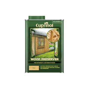 Cuprinol Wood Preserver - Clear - 1L