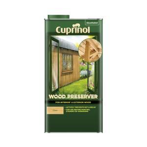 Cuprinol Wood Preserver - Clear - 5L