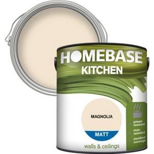 Homebase Kitchen Matt Paint - Magnolia 2.5L