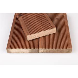 Brown Treated Softwood Decking 28x120x2.4 (Pack of 4)