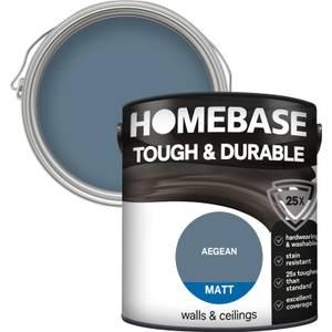 Homebase Tough & Durable Matt Paint - Aegean 2.5L