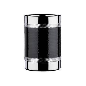 Bottle Cooler - Hammered Black Band