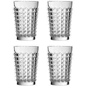 Pyramid Hi Ball Glasses - Set of 4