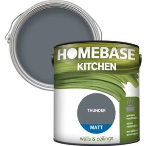 Homebase Kitchen Matt Paint - Thunder 2.5L