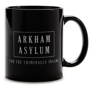 Batman Arkham Asylum Tasse - Schwarz