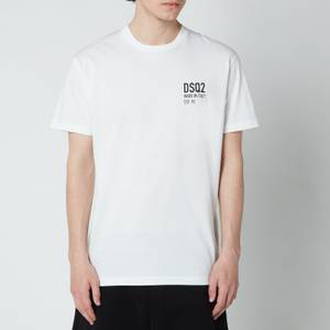 Dsquared2 Men's Cool Fit Made In T-Shirt - Optical White