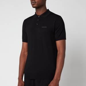 Dsquared2 Men's Big Logo Polo Shirt - Black