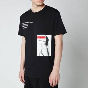 Dsquared2 Men's Cool Fit Icon Ibrahimovic T-Shirt - Black