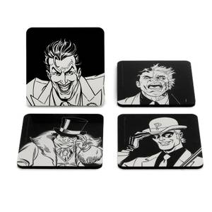 Batman Villains Icon Set de Sous-Verre