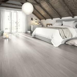 EGGER HOME Aqua+ Grey Toscolano Oak 8mm Laminate Flooring