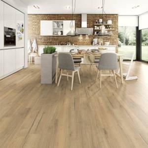 EGGER HOME Aqua+ 8mm Laminate Flooring - Natural Creston Oak