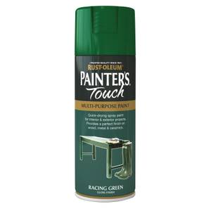 Rust-Oleum Gloss Spray Paint - Racing Green - 400ml
