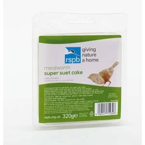 RSPB Super Suet Mealworm Cake