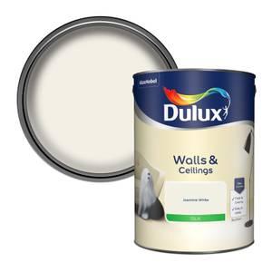 Dulux Jasmine White - Silk Emulsion Paint - 5L