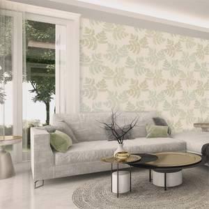 Belgravia Decor Amara Green Leaf Wallpaper