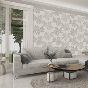 Belgravia Decor Amara Soft Silver Leaf Wallpaper