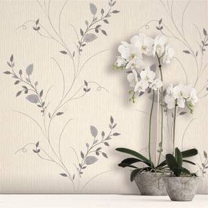 Belgravia Decor Tilly Silver Trail Wallpaper