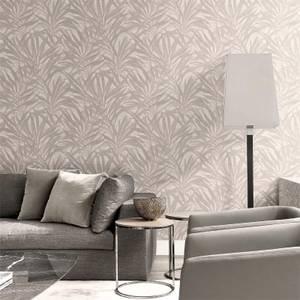Belgravia Decor Palm Soft Beige Wallpaper