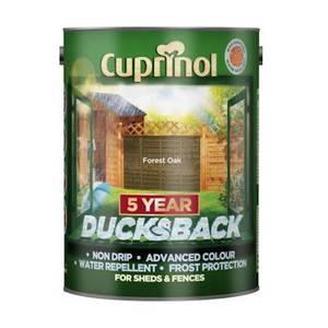 Cuprinol 5 Year Ducksback - Forest Oak - 5L