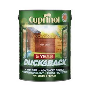 Cuprinol 5 Year Ducksback - Rich Cedar - 5L