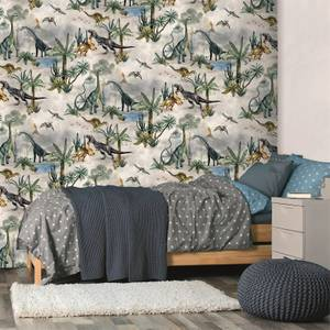Belgravia Decor Dino Kingdom Multi Wallpaper