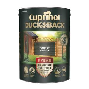 Cuprinol 5 Year Ducksback - Forest Green - 5L