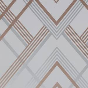 Sublime Ritz Grey / Rose Gold Wallpaper