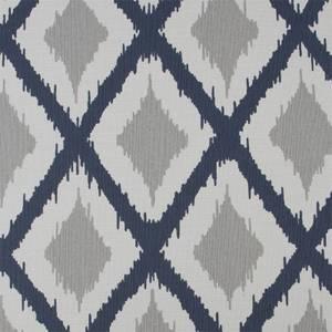 Fresco Ikat Wallpaper - Blue