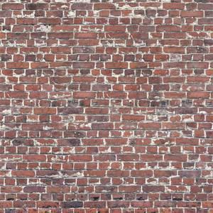 Grandeco Life Digital Mural Stable Brick - Red