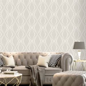 Belgravia Decor Amelie Beige Geometric Wallpaper