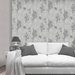 Belgravia Decor Organica Silver Leaf Wallpaper