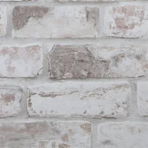 Fresco Distressed Brick Wallpaper - Pastel