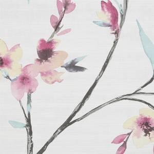 Fresco Kimono Wallpaper - Pink