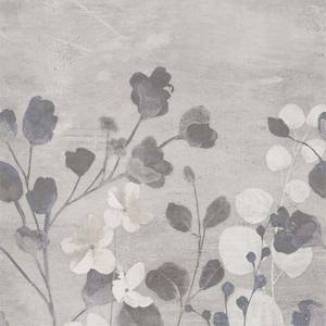 Grandeco Life Digital Mural Concrete Flower - Neutral