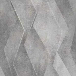 Grandeco Life Digital Mural Vertical 3d - Grey
