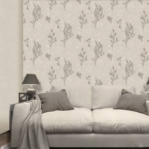 Belgravia Decor Organica Pearl Leaf Wallpaper
