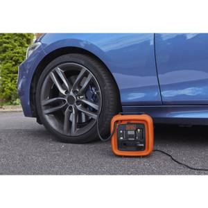 BLACK+DECKER 12V Corded DC High Pressure Inflator (ASI400-XJ)