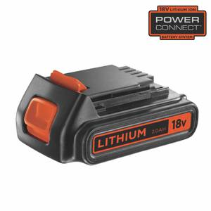 BLACK+DECKER 18V 2Ah Battery (BL2018-XJ)