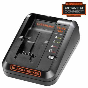 BLACK+DECKER 1Ah 18V  Fast Battery Charger (BDC1A-GB)