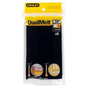STANLEY DualMelt 12x101mm Glue Sticks – Pack of 6 (1-GS15DT)