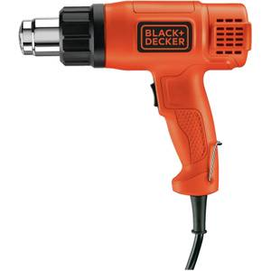 BLACK+DECKER Dual Heat Settings 1750W Corded Heat Gun (KX1650-GB)