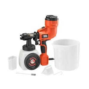 BLACK+DECKER 400W Corded Fine Paint Sprayer (HVLP200-GB)