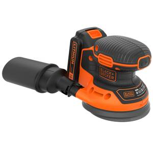 BLACK+DECKER 18V Cordless Random Orbital Sander with Sanding Sheet (BDCROS18-GB)