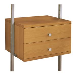 Aura Wardrobe Storage Small Drawer Kit (W)550mm Oak